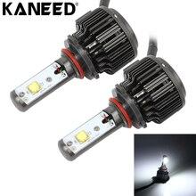 Kaneed 9006 светодиодные лампы 2 шт. 30 Вт 3600 LM 6000 К IP68 Водонепроницаемый фар автомобиля с 2 Лампы для мотоциклов головного света интимные аксессуары комплект, DC 9-36 В