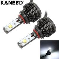 KANEED 9006 LED Bulbs 2pcs 30W 3600 LM 6000K IP68 Waterproof Car Headlight With 2 Lamps