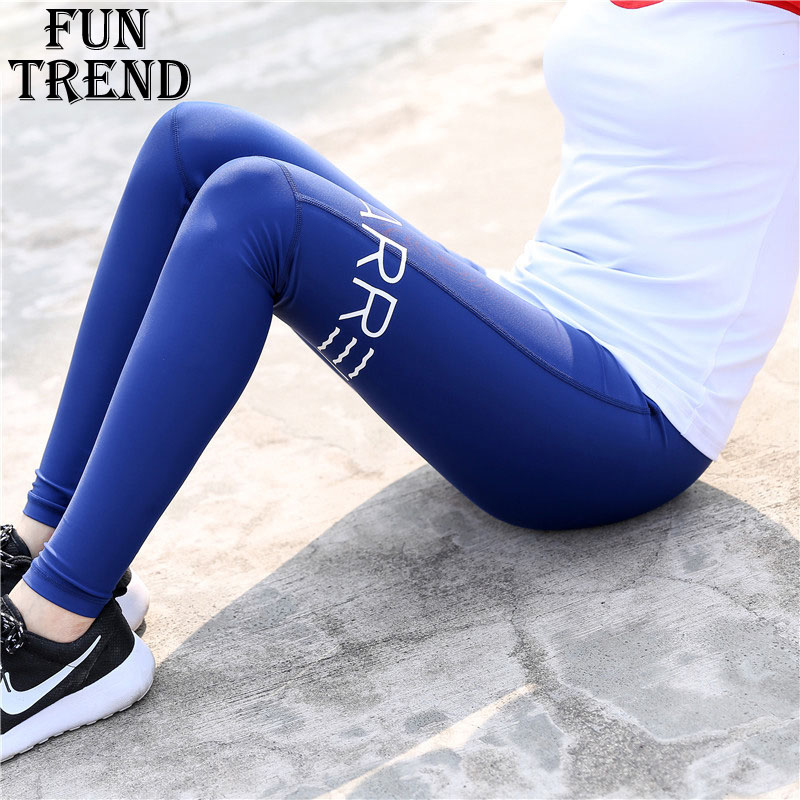 Women Yoga Pants Stretch Sport Leggings Gym Workout Fitness Compression Pants Breathable Women Running Tights Fitness Sportswear