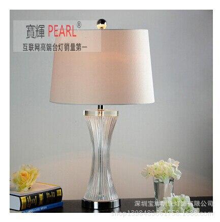 Туда 35x65 см Бесплатная доставка K9 Кристалл Настольная лампа современный минималистский Стиль Настольная лампа для гостиной кабинет спальн...