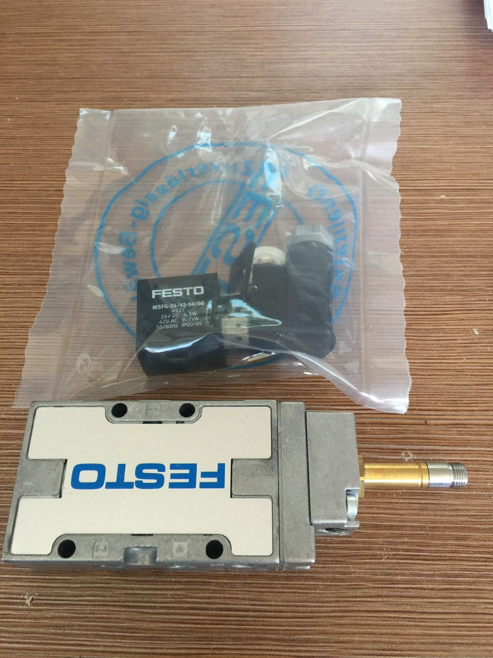 German Original solenoid valve MFH 5 1 8 B 19758 Contains the DC24V coil