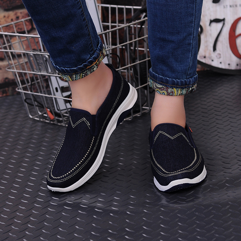 2016 Primavera zapatos de Lona de Verano Zapatos de Hombre zapatos para Caminar Transpirables Hombres Zapatos