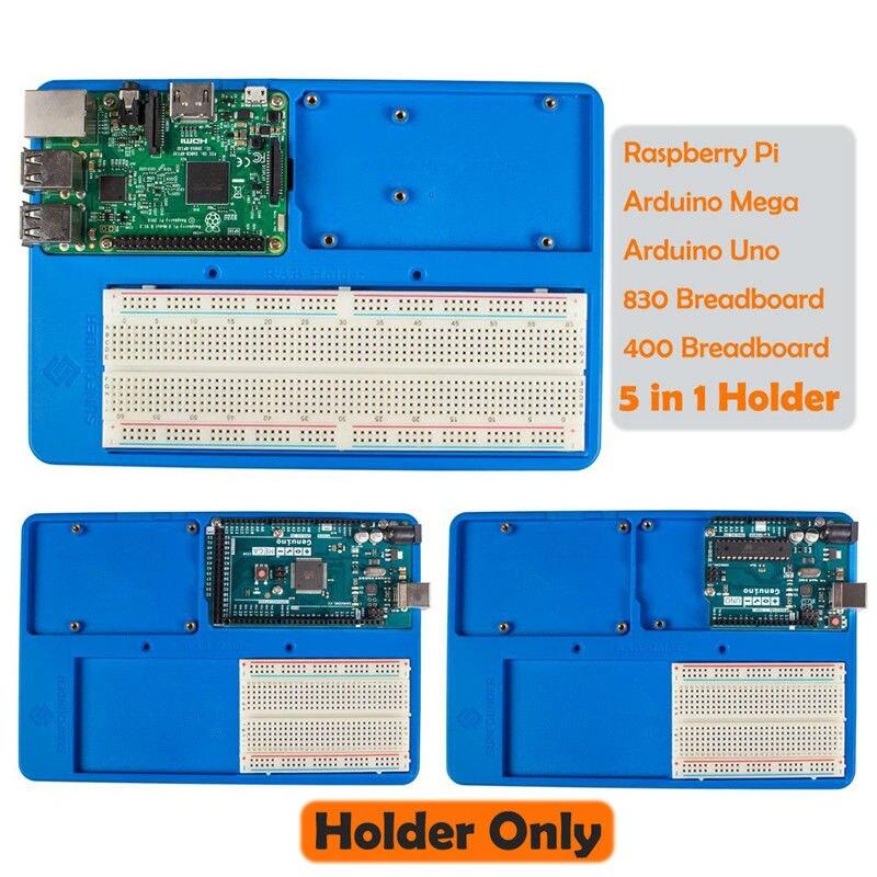 SunFounder RAB 5 in 1 Breadboard Holder Base Plate Circuit Board Screws for font b Arduino