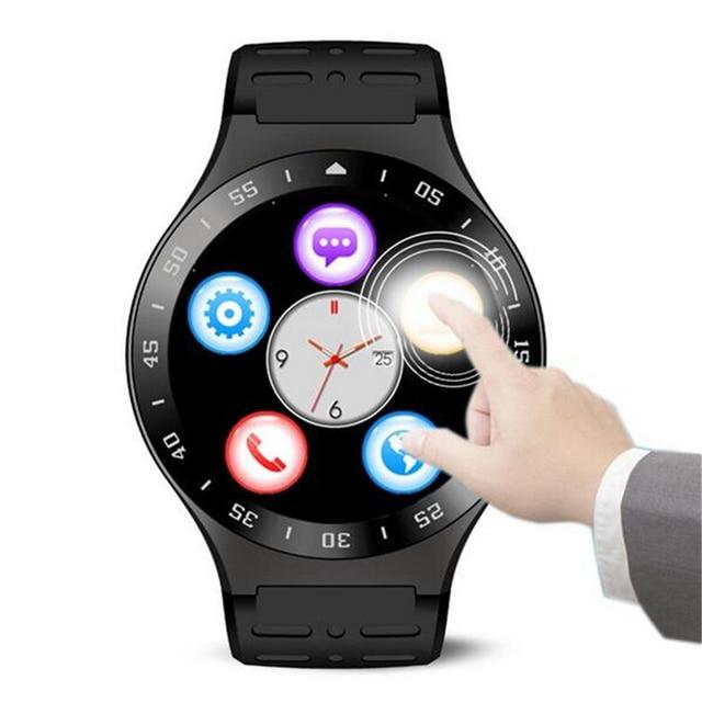 S99A MTK6580 SmartWatch Android 5.1 Bluetooth 4.0 монитор сердечного ритма Google Play магазин 3 Г GPS Smart watch Phone Для iOS Android