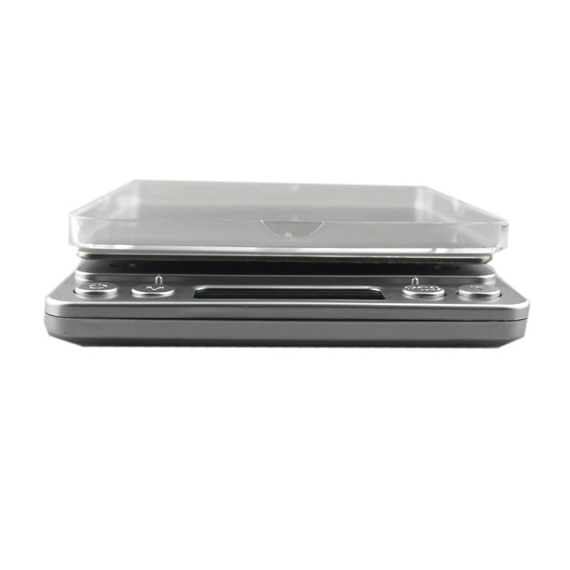 3000 g / 0,1 g skaitmeninės virtuvės svarstyklės svorio balanso - Matavimo prietaisai - Nuotrauka 4