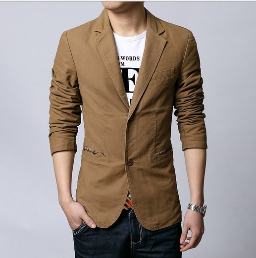 Popular Brown Blazer-Buy Cheap Brown Blazer lots from China Brown ...