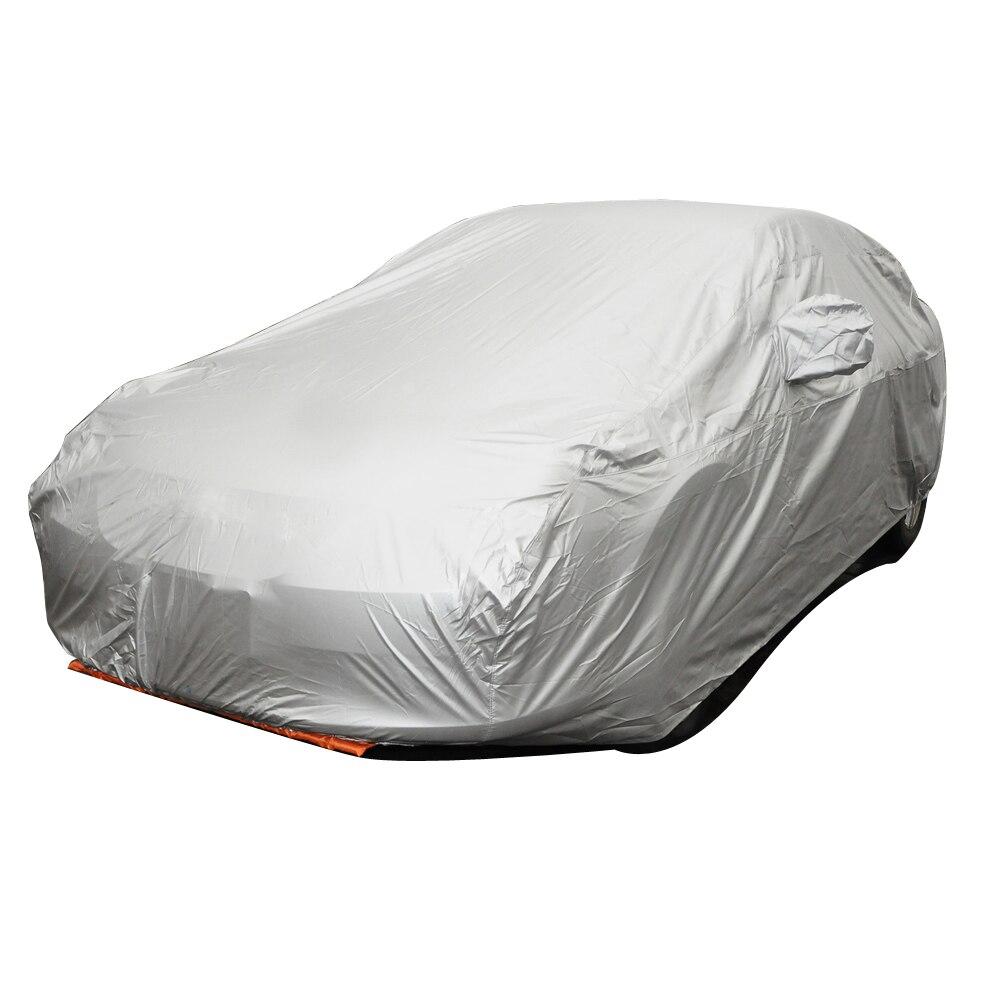 Sedan Universal font b Car b font Covers Styling Indoor Outdoor Sunshade Heat Protection Dustproof Anti