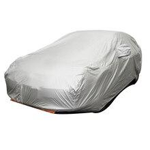 Sedán de Coche Universal Cubre Estilo de Interior Al Aire Libre Parasol Protección UV Anti A Prueba de Calor Resistente A Los Arañazos