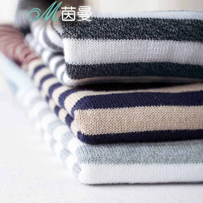 INMAN для женщин; Новинка 2019 года; сезон весна-осень; универсальный Повседневный пуловер в полоску с круглым вырезом; свитер с длинными рукавами; осенние вязаные топы