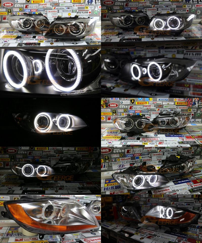 Geerge smd led angel eyes some Installation case(2)