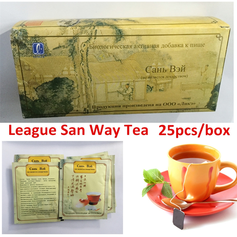 2packs/lot Removes toxins Herbal t-e-a San Way  promotes urination strengthens the heart regulation of body weight the price regulation of