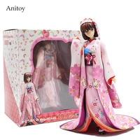 Saenai Heroine No Sodate Kata Megumi Kato Ver. Kimono PVC Figure Collectible Toy 22cm KT4130