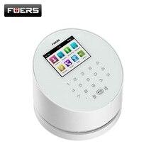 W2 gsm wifi дома охранной сигнализации системы с TFT Цвет UI меню ЖК-дисплей дисплей