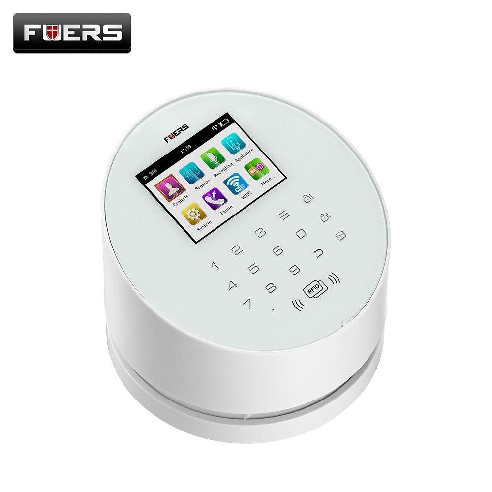 bilder für W2 GSM Wifi Alarmanlagen Sicherheits Hause mit TFT Farbe UI menü LCD display