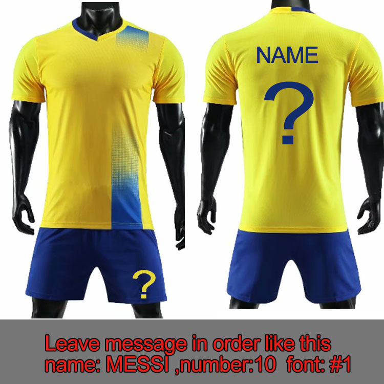 newest 702a6 a08c6 US $15.0 |2019 Custom Soccer Jersey Personalize Football Team Shirt with  pocket Football Training Suit Soccer Uniform Print Logo Number-in Soccer  Sets ...