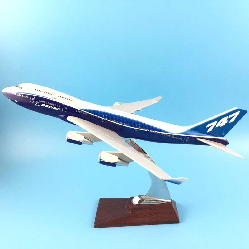 FREE SHIPPING 31CM BOEING LIVERY 747-400 METAL BASE RESIN MODEL PLANE AIRCRAFT MODEL TOY AIRPLANE BIRTHDAY GIFT 1 400 jinair 777 200er hogan korea kim aircraft model