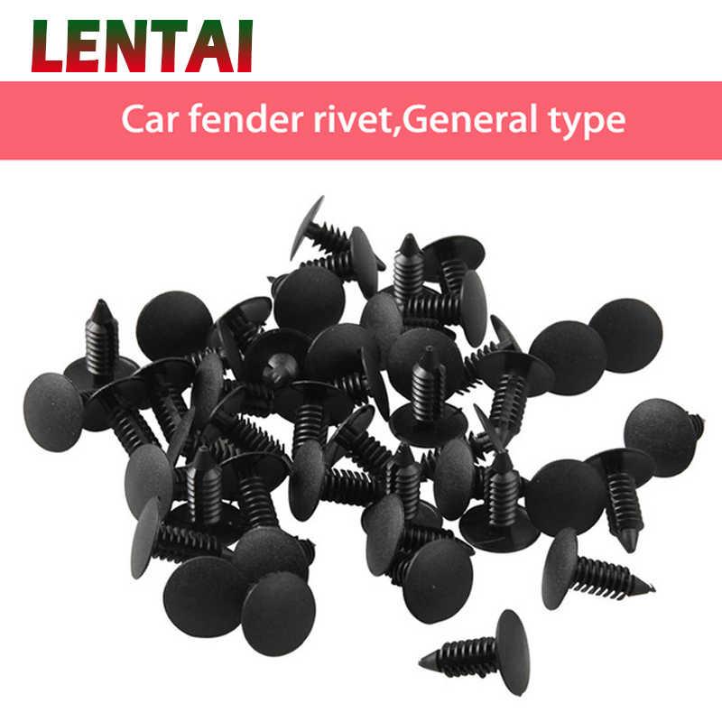 LENTAI Für Audi a3 a4 b6 b8 a6 Mini cooper Chevrolet aveo 50 Pcs Auto Stoßstange Clips Befestigungen Auto Tür trim Panel Fender Rivet