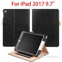 Case For IPad 2017 9 7 Inch Ultra Slim Magnetic Leather Smart Stand Case Cover For