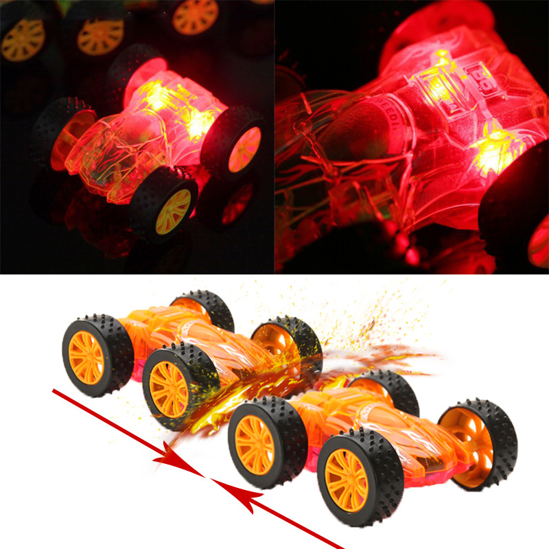 Flashing Light Toy Car Model Baby Kids Children Gift Collection Fun Funny