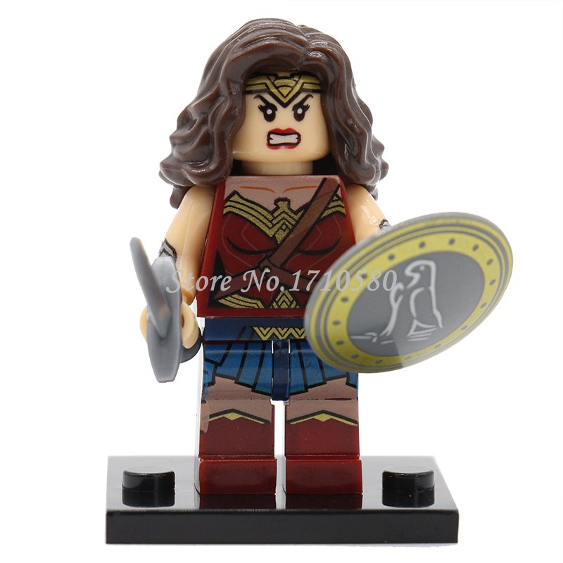 XINH 222 Surprise Girl Minifigures Single Sale Tremendous Heroes Avengers Mini Figures Constructing Blocks Mannequin Units Toys For Youngsters