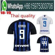 2efe01720950 Optimum quality 2018 2019 Inter Milanes Adlut soccer Jerseys camisetas shirt  survetement man Football shirt.