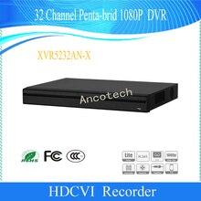 Сетевой видеорегистратор DAHUA 32 канального наблюдения CCTV пятиядерный ГП брод 1080 P H.265 + H.264 + 2 SATA безопасности XVR цифрового видео Регистраторы DH-XVR5232AN-X