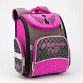 2016 Niños y niñas de la escuela bolsas de coche/oso/gato/niños ortopédica mochila mochila infantil de alta calidad bolsas principales 1-5