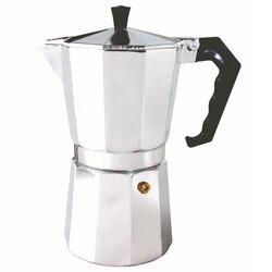 HOT aluminium do domu Latte mokka dzbanek do kawy ekspres do kawy narzędzie łatwe do czyszczenia do kawy w domu|Dzbanki do kawy|Dom i ogród -