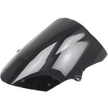 Bolha dupla Windscreen Windshield para Kawasaki Ninja ZX6R 09-16 ZX10R 2008-10