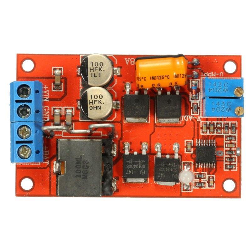 5A Mppt Solar Panel Regulator Controller Solar Lade Control Panel Batterie Lade 9V 12V 24V Auto Switch
