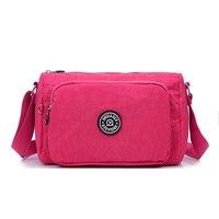 Высокое качество Повседневное Для женщин сумка Водонепроницаемый нейлон небольшой клатч Сумки Мода Сумка Дорожные сумки Bolsas femininas