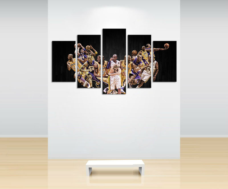 cheap for discount 63c8f 184ef Kobe Bryant LA Lakers Basketball-8 ...