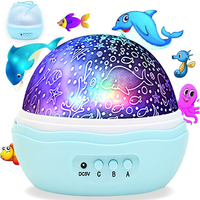 12 Soft color Light Music Projector Night Light Rotating Starry LED Baby Lamp Children Bedside Lamp for Baby Kids and Adults