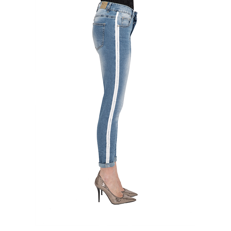 My will jeans Jeans for large size women spring stretch thin feet jeans women nine pants 1211 in Jeans from Women 39 s Clothing