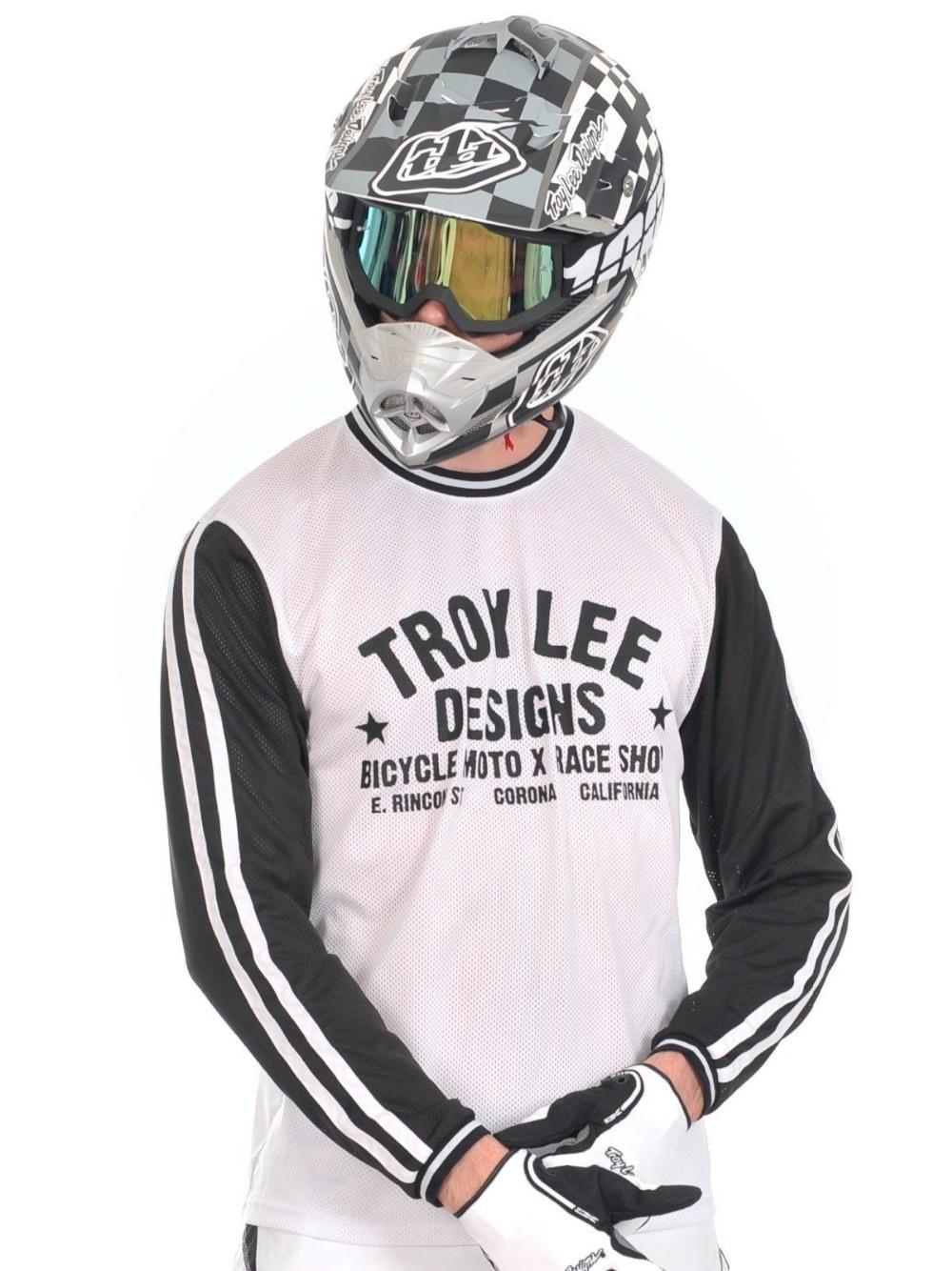 free shipping 2016 Troy Lee Designs TLD Super Retro Jersey Black White  Adult MTB Mountain Bike T shirt Downhill Moto Jerseys on Aliexpress.com  26504fc92