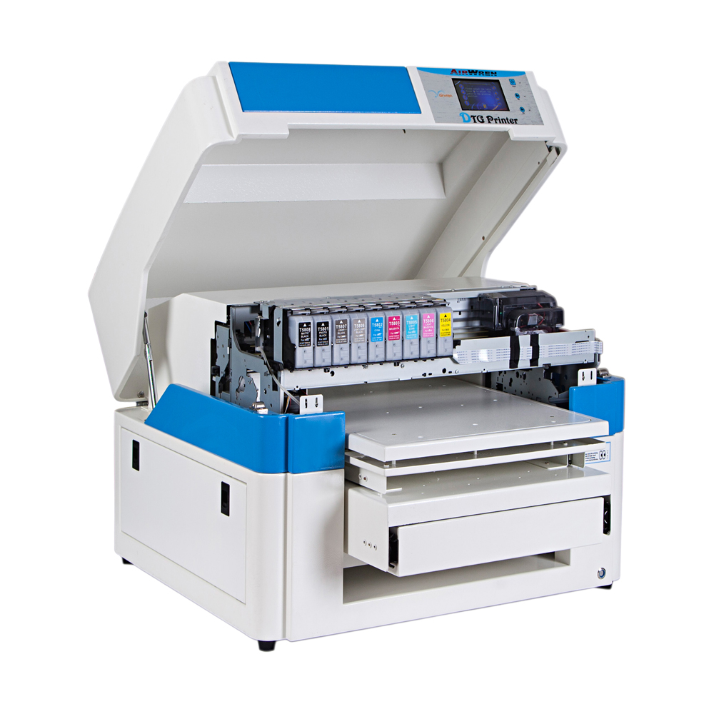 2019 Airwren Digital Printer For T Shirts With Ink-jet (Micro Piezo Head)