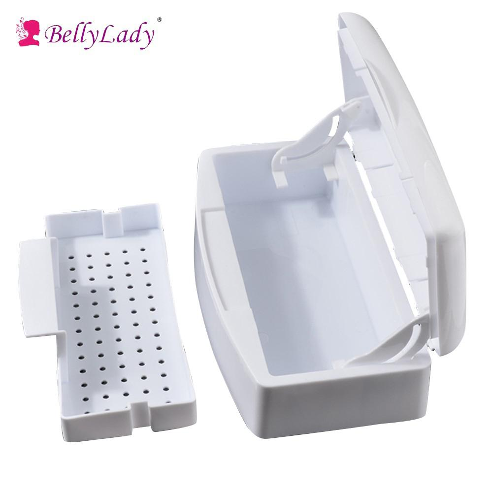 BellyLady Alcohol Sterilization Sterilizing Cleaning Box Sterilizer Tray For Nail Tool