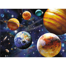 DIY Diamond Painting star scenery embroidery solar landscape Mosaic Corss Stitch Star home decor
