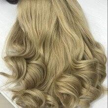 Tsingtaowigs светлые европейские волосы remy 14 дюймов еврейский парик, Кошерный парик лучшие ножницы
