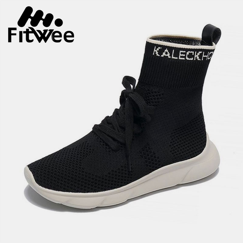 Tleni 2019 New Multicolor Spring Autumn Breathable Sock Sneakers Women Fashion Student Footwears Simple Running Shoes Zd-78 Underwear & Sleepwears