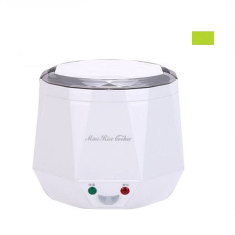 DMWD 1.3L Mini Rice Cooker 12V/24V For Car/Truck Travel Portable Electric Pot Steaming/Boiling/Stewing Soup Pot For 2-3 People torx shape dn50 heating elements for soup bucket pot cinquefoil type 2 thread electric heat tube for cooker