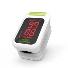Yongrow LED Пульсоксиметр Спецодежда медицинская Портативный палец Пульсоксиметр насыщения крови кислородом Мониторы с Здоровье и гигиена оксиметр