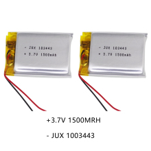 купить New 3 Line Energy Battery 3.7V Lithium Polymer Battery 103443 1500MAH Game Machine MP3 MP4 MP5 GPS Navigator Lithium Batteries по цене 198.65 рублей