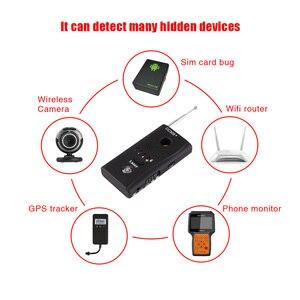 Image 4 - ET pełnozakresowy wykrywacz błędów szpiegowskich CC308 + Mini kamera bezprzewodowa ukryty sygnał GSM WiFi wykrywacz błędów sonda Monitor anty szpieg