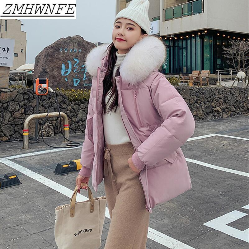 Parka   Women Winter 2019 New Jacket Coat Short Slim Thickening Warm   Parkas   Female Outerwear Black Fishnet Jacket