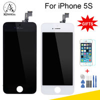 100 Guarantee For IPhone 5 Display Touch Screen Display For Iphone5 Lcd Digitizer Assembly Black White