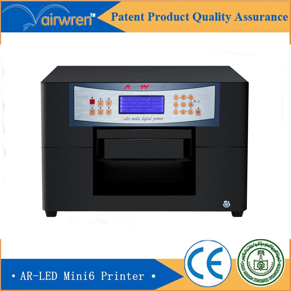 Wedding Invitation Card Printing Machine A4 Mini Uv Flatbed Inkjet Print