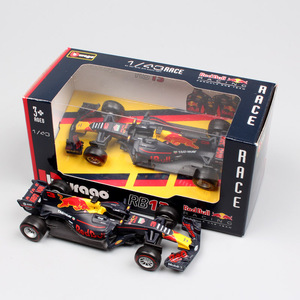 Image 3 - Kinder Maßstab 1:43 BBurago Racer RB15 SF71H SF90 Kimi Räikkönen Charles Leclerc Sebastian Vettel diecast modell fahrzeug auto spielzeug 2019