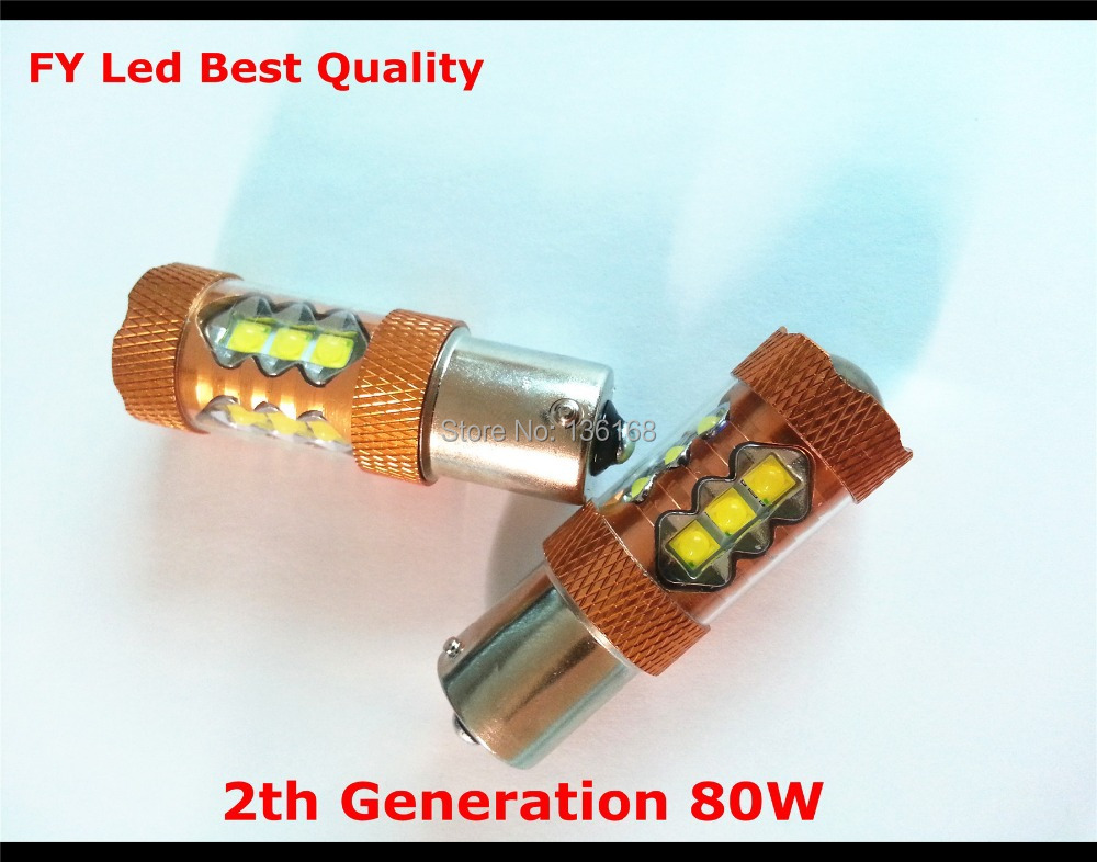 80W White Cree Chips Canbus Error Free P21W 1156 BA15s R10W 382 10W 1156 Xenon weib 6000K CAN-Bus Car LED Bulb Reverse Light ruiandsion 2x75w 900lm 15smd xbd chips red error free 1156 ba15s p21w led backup revers light canbus 12 24vdc