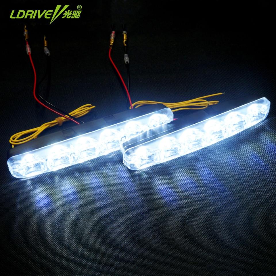 2 * 6 LED καθολική αδιάβροχο 12V - Φώτα αυτοκινήτων - Φωτογραφία 5